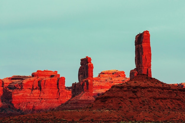 Monument valley, utah, verenigde staten