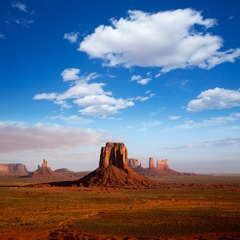 Monument valley wanten ochtendmening utah