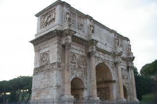 Monument van rome italië, toren