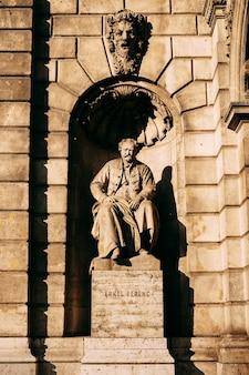 Monument voor erkel ferenc in boedapest, hongarije