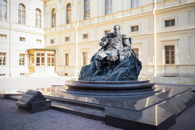 Monument voor keizer alexander iii