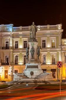 Monument voor keizerin catherine. odessa.