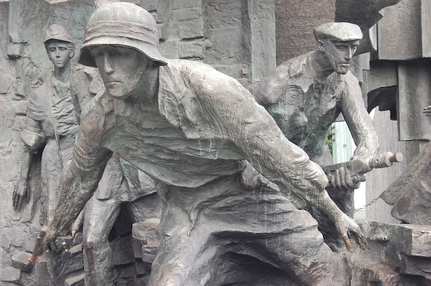 Monument warschau stijgende opstand oorlog vechten cialis