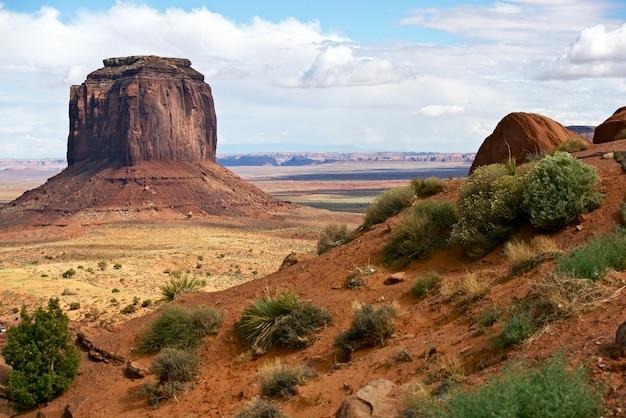Monumenten vallei landschap