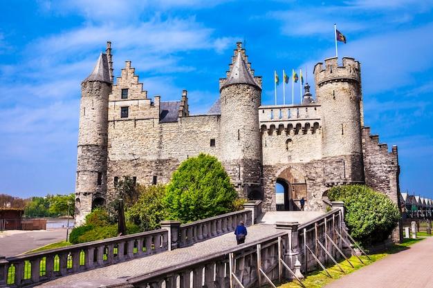Monumenten van belgië, het steen kasteel in antwerpen