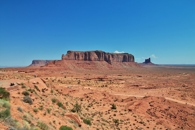 Monumentenvallei in utah en arizona