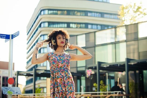 Mooi afro-amerikaans meisje