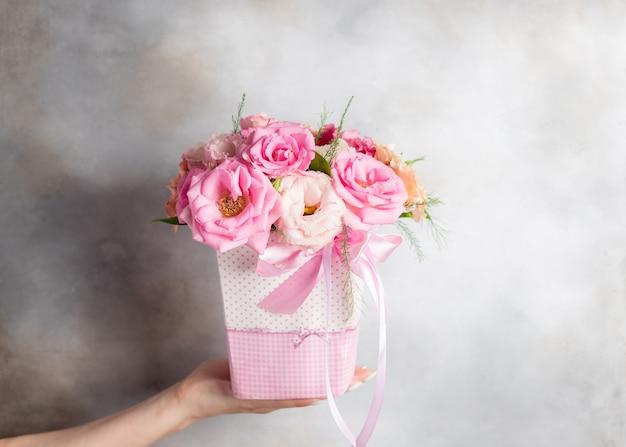 Mooi boeket van diverse bloemen