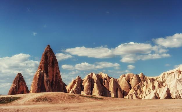 Mooi cappadocia-landschap