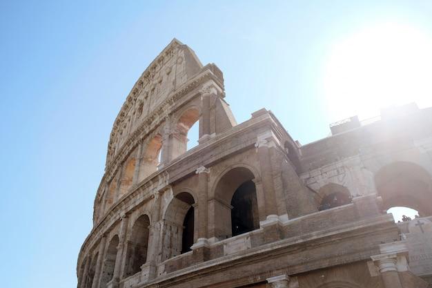 Mooi colosseum in rome, italië