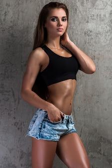 Mooi fitness meisje