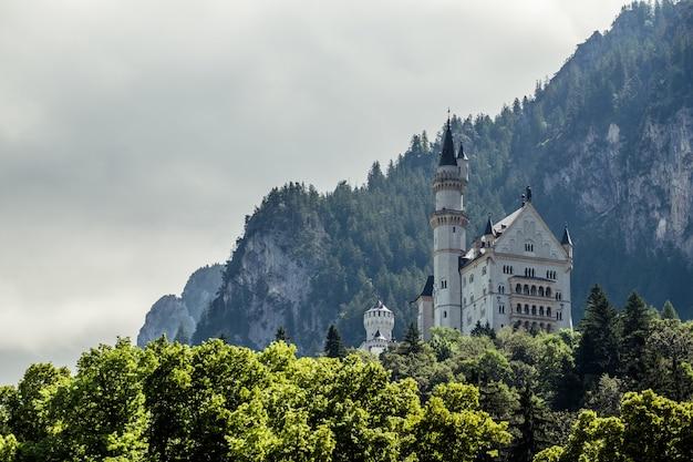Mooi kasteel neuschwanstein füssen, duitsland