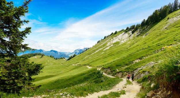 Mooi landschap in de bergen