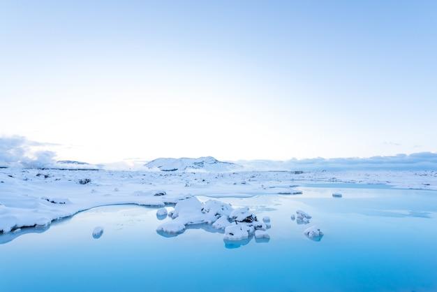 Mooi landschap in ijsland