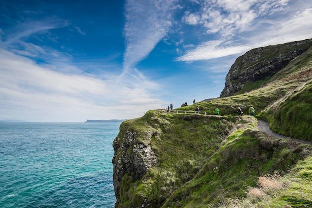 Mooi landschap in noord-ierland