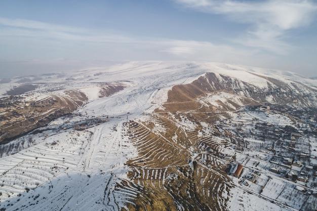 Mooi luchtfoto drone schot