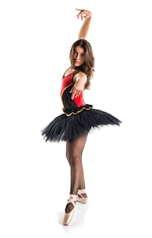 Mooi meisje ballerina danseres