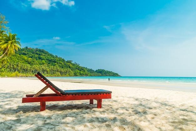 Mooi natuur tropisch strand