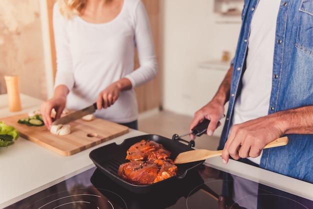 Mooi paar koken