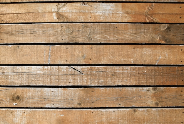 Mooi shot van een houten muur