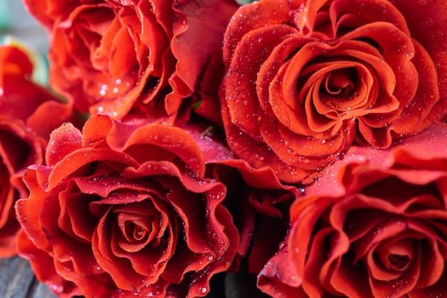 Mooi vers rozenboeket