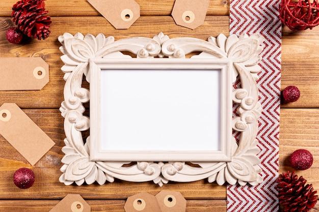 Mooi vintage frame en prijskaartjes