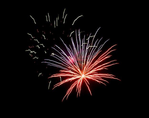 Mooi vuurwerk in de lucht