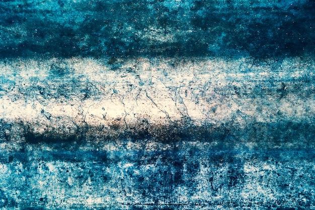 Mooie abstracte grungy blauwe stucwerk muur achtergrond