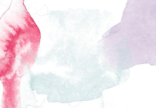 Mooie achtergrond met aquarel penselen