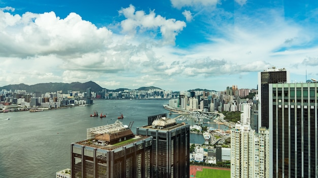Mooie architectuur, hong kong city.