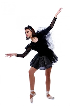 Mooie ballerina balletdans dansen
