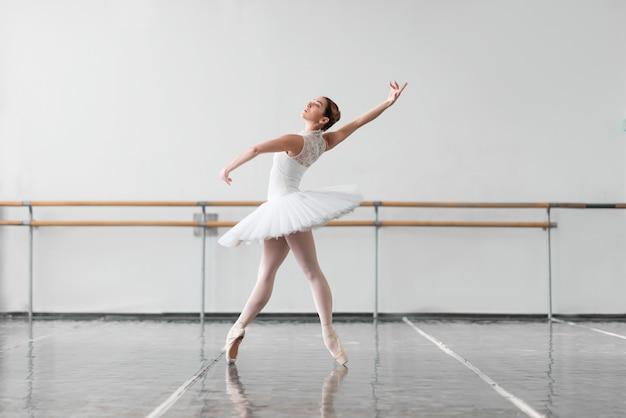 Mooie ballerina repetitie in balletles