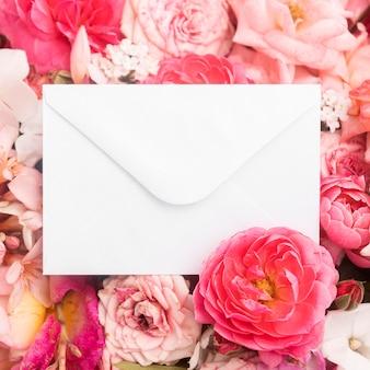 Mooie bloemen valentijnsdag concept