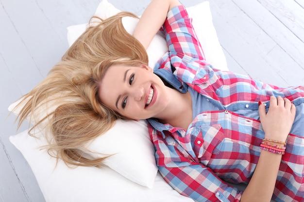 Mooie blonde