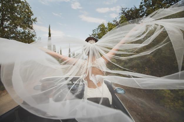 Mooie bruidssluier