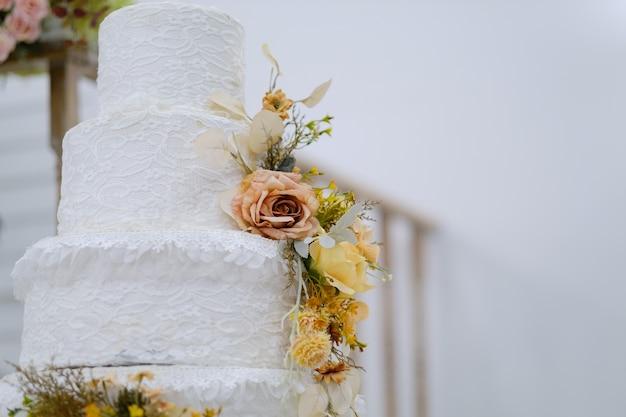 Mooie bruidstaart