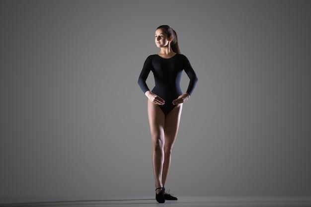Mooie danser vrouw