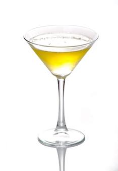 Mooie en heerlijke cocktail in een glas