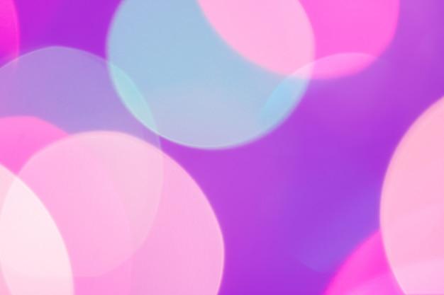 Mooie en kleurrijke bokeh van lichten voor achtergrondsamenvatting.