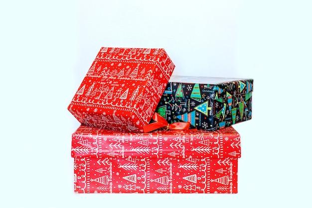 Mooie geschenkdoos voor het nieuwe jaar