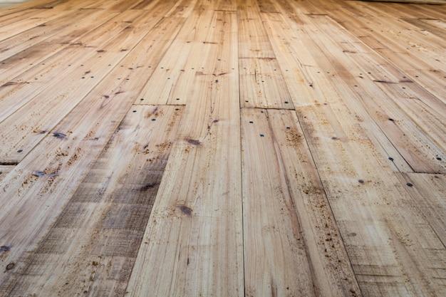Mooie grenen houten vloer