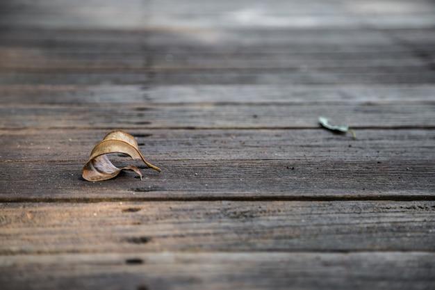 Mooie houten achtergrond met het blad