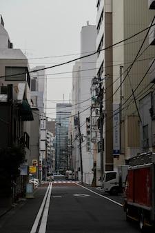 Mooie japanse stad overdag