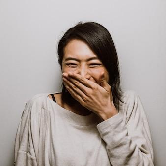 Mooie japanse vrouw, lifestyle momenten