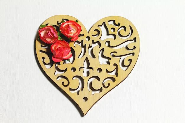 Mooie kaart voor valentijnsdag of vintage achtergrond