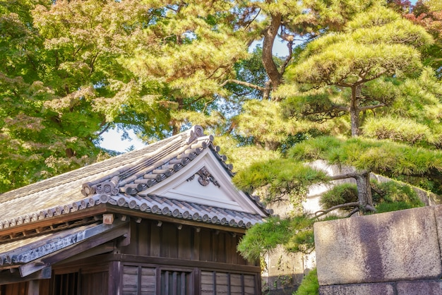 Mooie keizerlijk paleis in tokio, japan