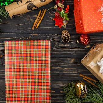 Mooie kerstcadeaus samenstelling
