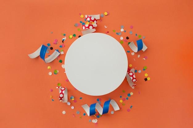 Mooie kleurrijke achtergrond om verjaardag te feliciteren
