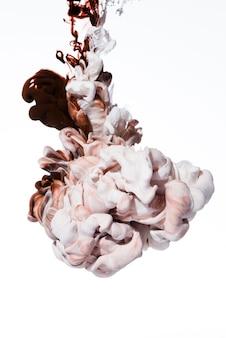 Mooie mix van rode en witte inkten