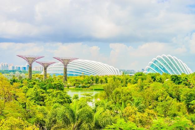 Mooie moderne uitzicht architectuur tuin